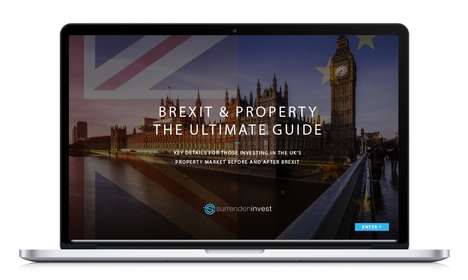 brexit guide on a laptop