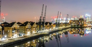 Transforming London's Royal Docks through heavy investment from the Far East