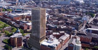 Newcastle's first skyscraper marks defining moment in the city's history